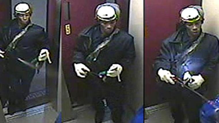 Image: Suspect in elevator attack