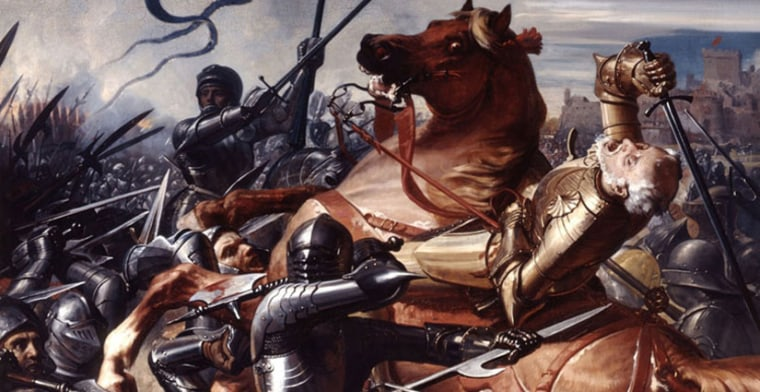 Medieval knights were not just thugs, but humans who likely felt the impact of their work.