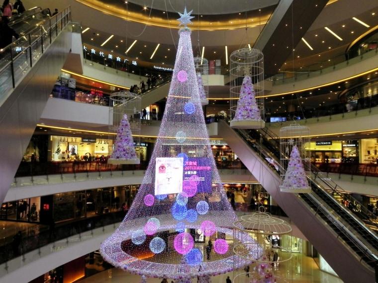 Image: Mall in Hangzhou, China