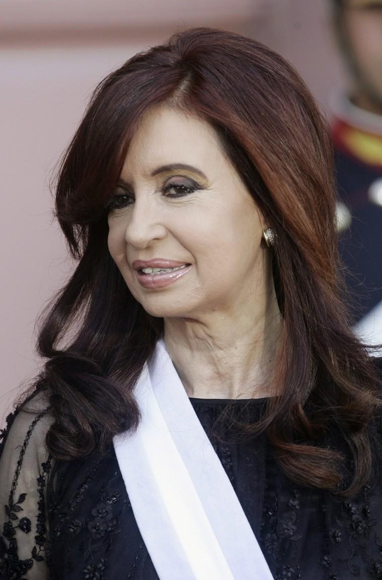 Image: Cristina Fernandez de Kirchner