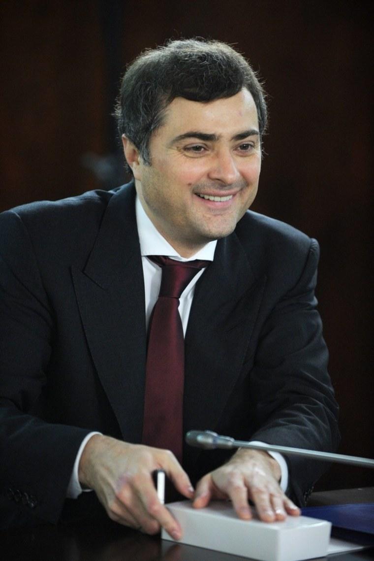 Image: Political strategist, Vladislav Surkov