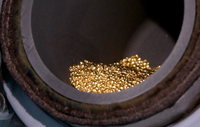 Photo of gold beads