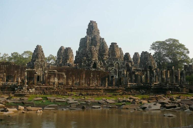 photo of Angkor Wat ruins
