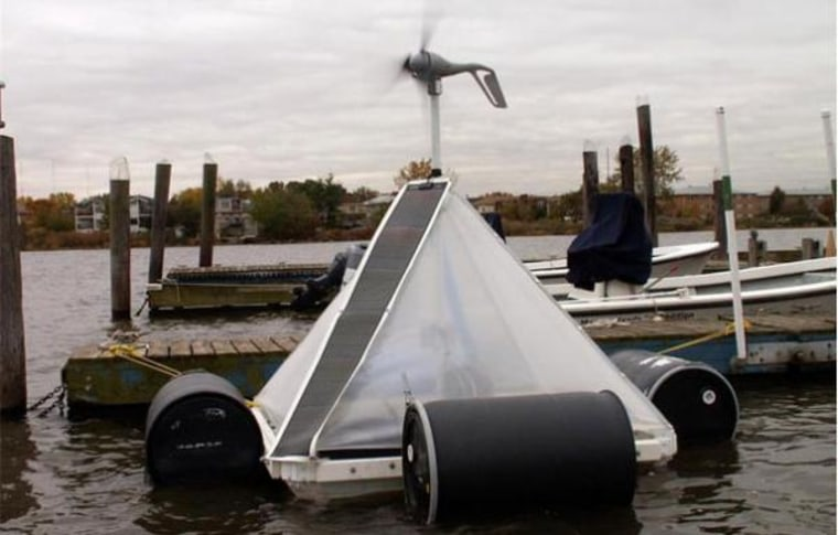 This was the second test of the production systems. BEAR Oceanics added more power and made it swan-proof.