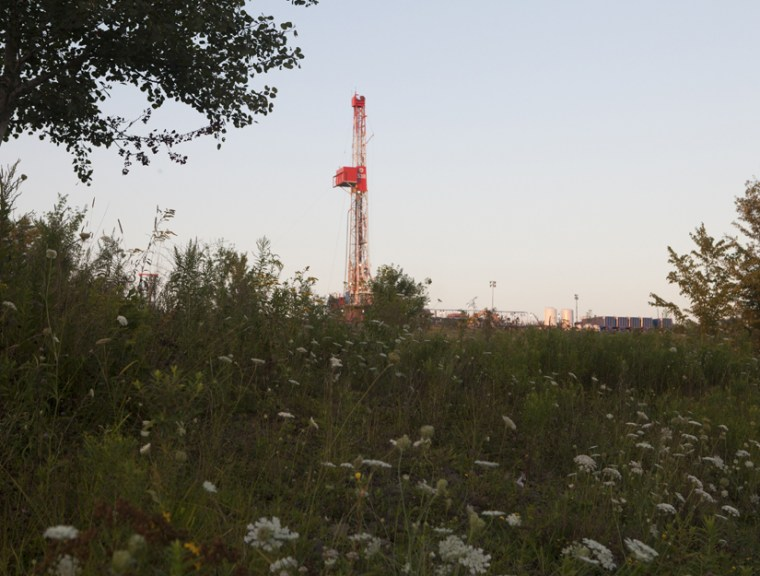 A fracking site in Forest Lake, Pa. Fracking operations in Ohio and Oklahoma have been linked to recent earthquakes.