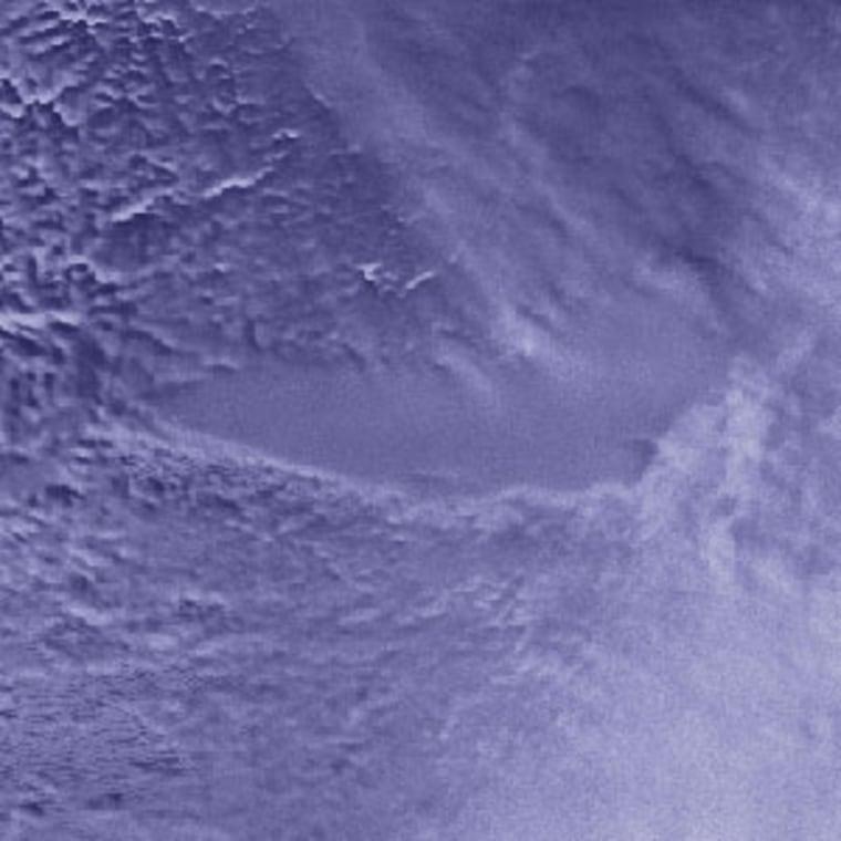 Lake Vostok as viewed by spaceby a satellite.