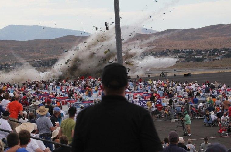 Image: Crash at Reno Air Show