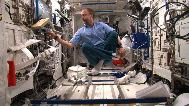 """Richard Garriott also can be seen in """"Man on a Mission,"""" a film by Mike Woolf."""