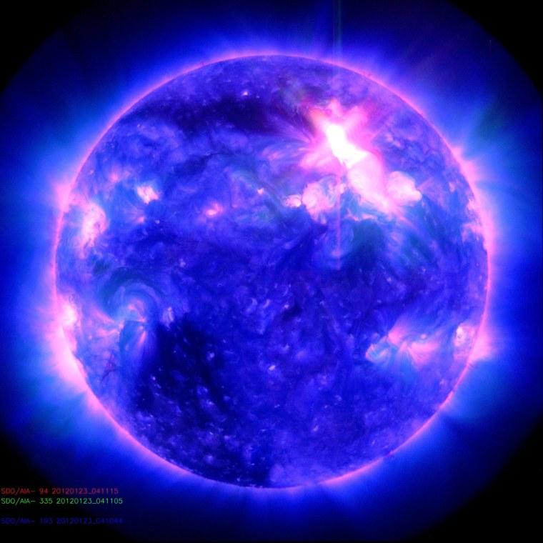Image: Solar outburst