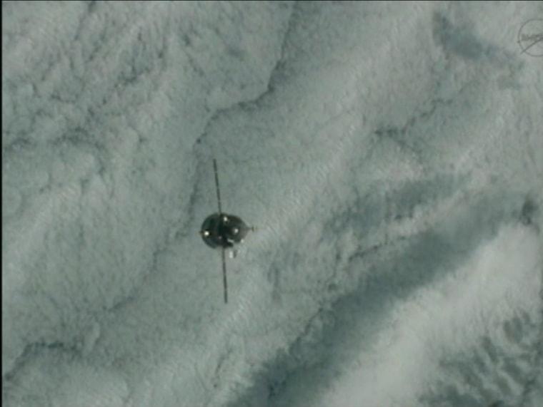 Image: Russian Progress 46 spacecraft