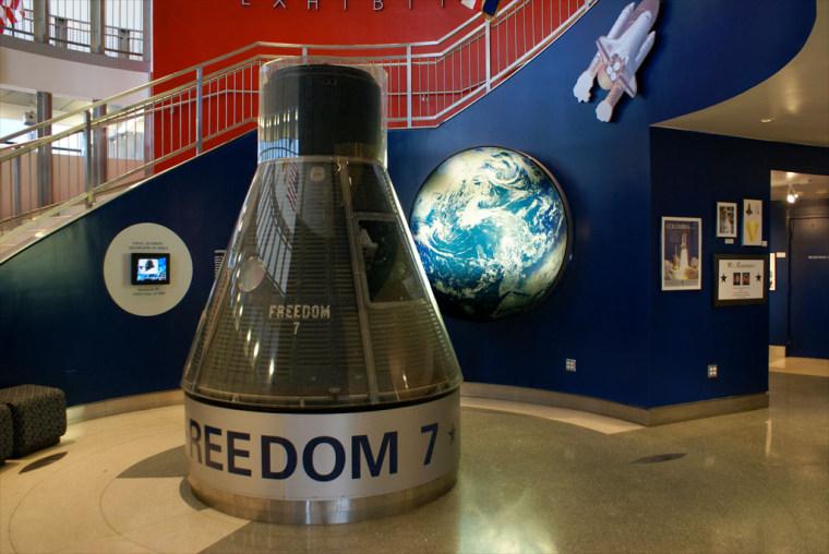 Image: Freedom 7 Mercury spacecraft