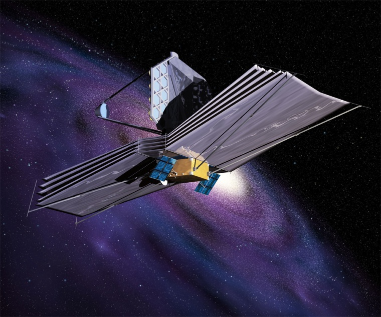 The James Webb Space Telescope (JWST) is the successor to the Hubble Space Telescope, and it will be almost three times the size of Hubble. JWST has been designed to work best at infrared wavelengths. This will allow it to study the very distant universe, looking for the first stars and galaxies that ever emerged.