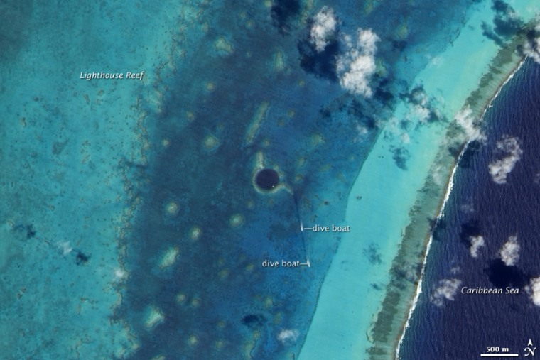 Image: Belize's Lighthouse Reef Atoll