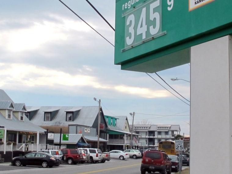 Image: Gas in Sullivans Island, S.C.