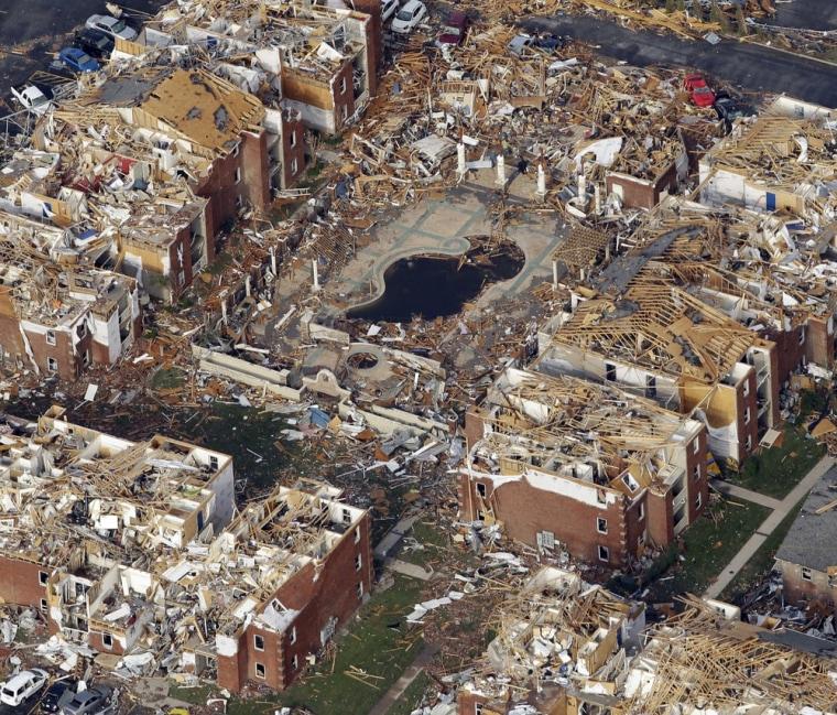 Image: Joplin tornado aftermath
