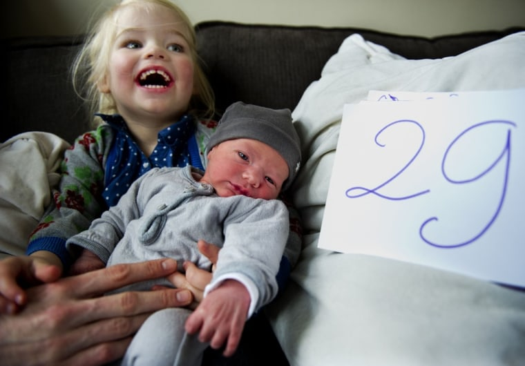Image: Leap year baby