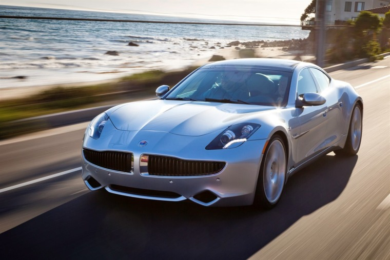 The 2012 Fisker Karma is an electric car with luxury styling and luxury pricing.