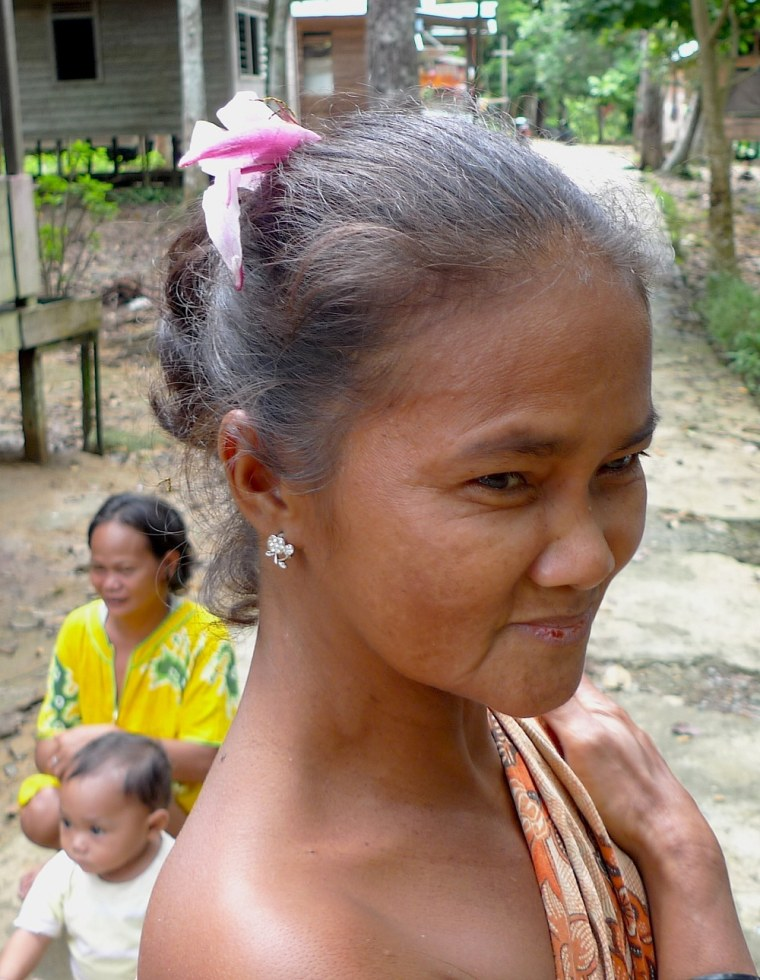 Women, such as this one from Indonesia, played a major role in founding Madagascar.