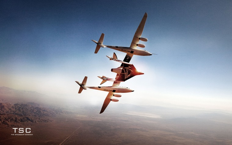 The first WhiteKnightTwo/SpaceShipTwo launch system has undergone extensive tests. Nextare rocket-powered flights of the two-pilot, six-passenger spaceship.