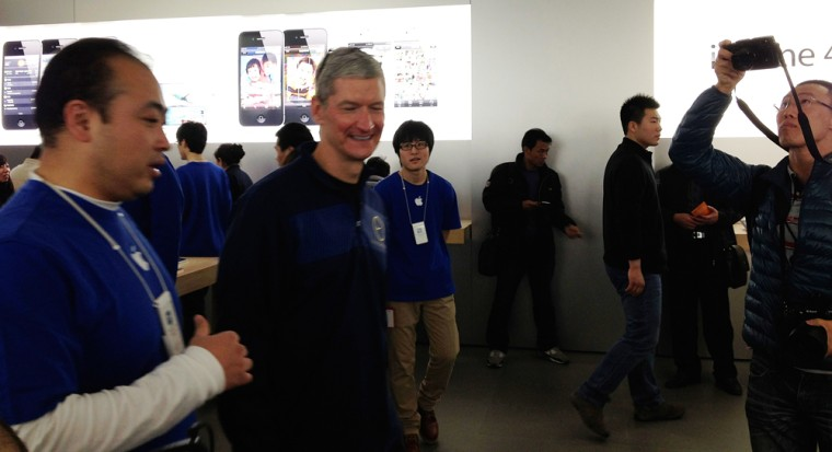 Apple CEO has a full agenda for first China trip