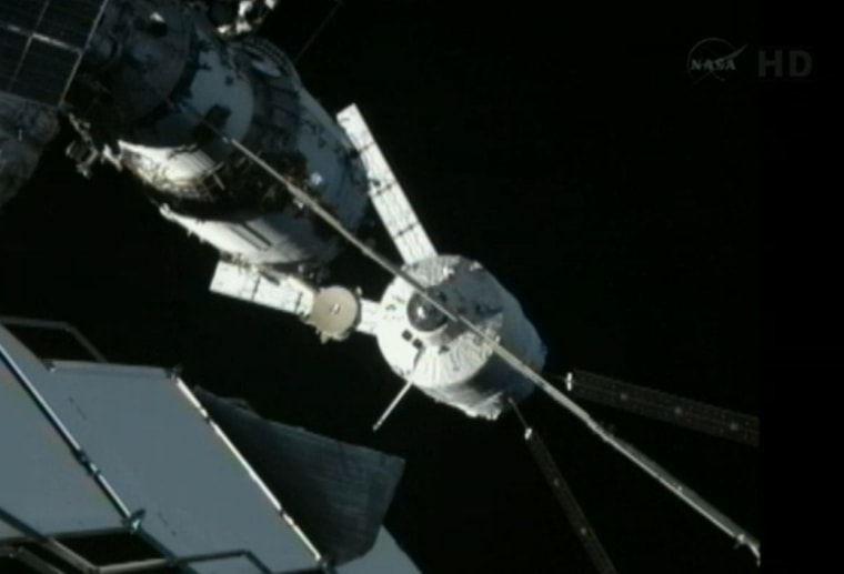 Image: ATV-3 docking