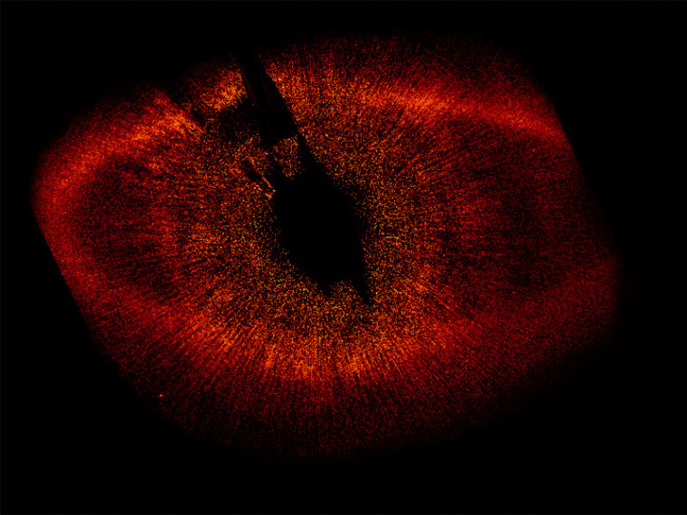 Image: Protoplanetary disk of dust around star