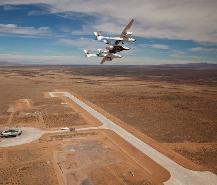 Image: Spaceport and aircraft