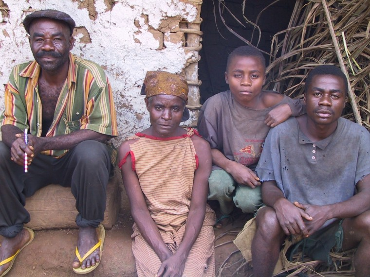 Image: Members of a village in Cameroon who are Pygmies