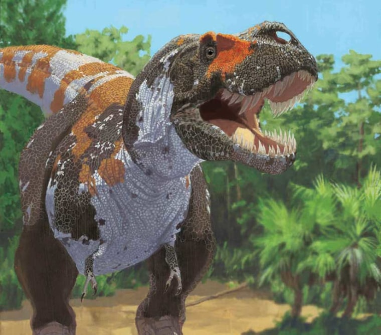 Tyrannosaurus rex is part of the carnivorous groups of dinosaurs that, according to new research, maintained a stable level of biodiversity leading up to the mass extinction at the end of the Cretaceous.