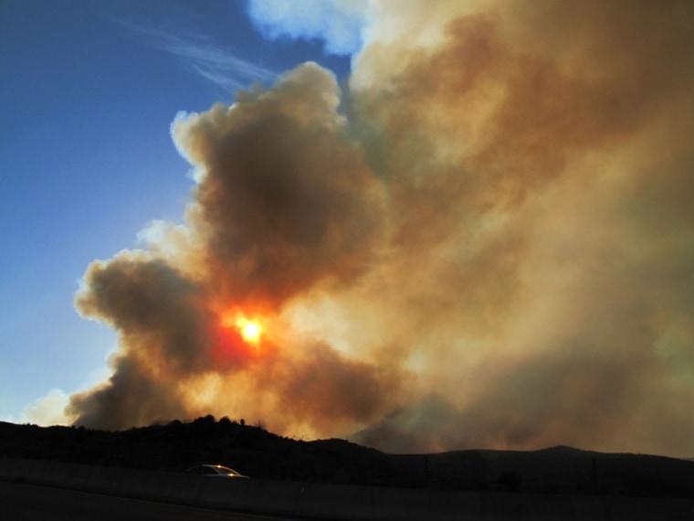 Image: Arizona wildfire