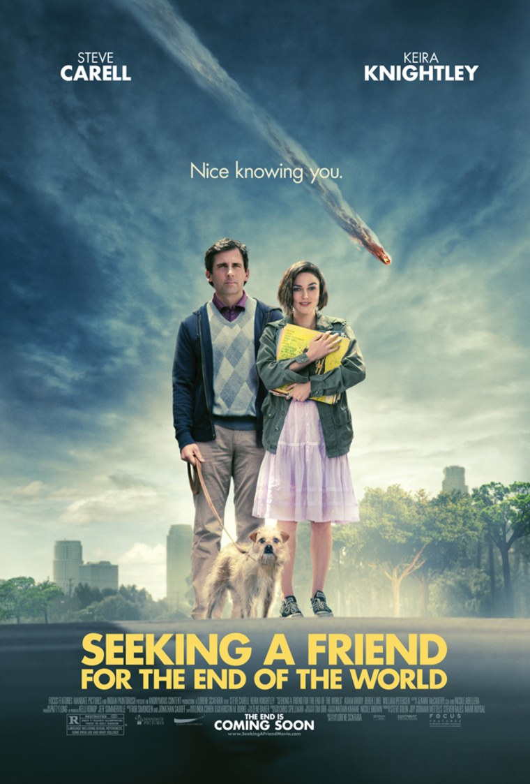 """""""Seeking a Friend for the End of the World"""" opened at movie theaters onFriday."""