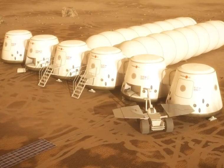 Image: Mars One colony