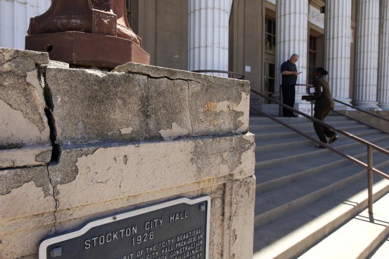 Image: Stockton city hall