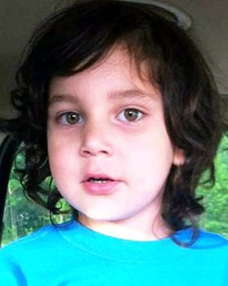 The body of 4-year-old Carnel Chamberlain was found a week after he was reported missing.