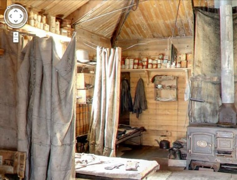 Image: Ernest Shackleton's Antarctic hut