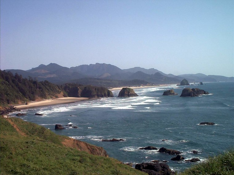 Oregon's idyllic coastline, a region that might be shaken by powerful earthquakes more frequently than thought.