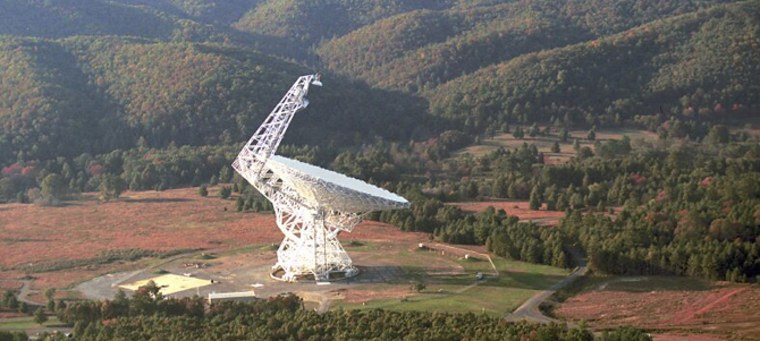 The Robert C. Byrd Green Bank Telescope in West Virginia, the largest steerable radio telescope in the world, is observing 86 planetary systems that may contain Earth-like planets in hopes of detecting signals from intelligent civilizations.