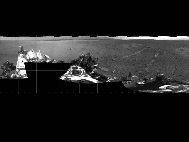 Image: Photo panorama, Mars, Aug. 22, 2012