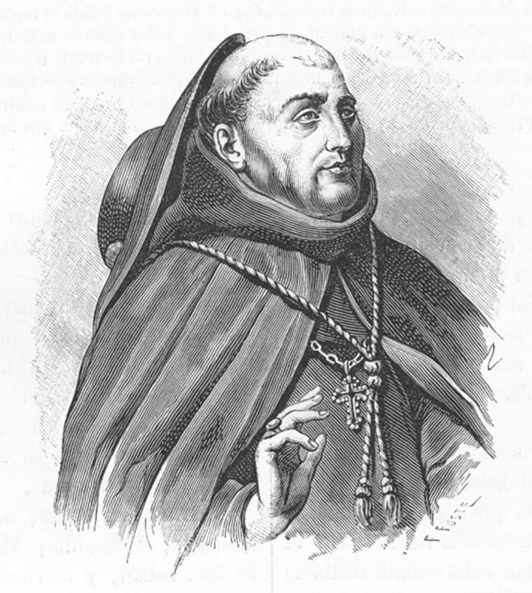 Prosecutor Fray Juan de Zumarraga, the Franciscan archbishop of Mexico and apostolic inquisitor of New Spain, was known for his extreme punishments.