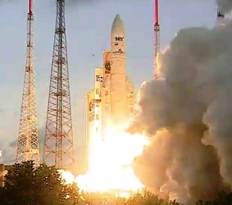 Image: Ariane 5 launch