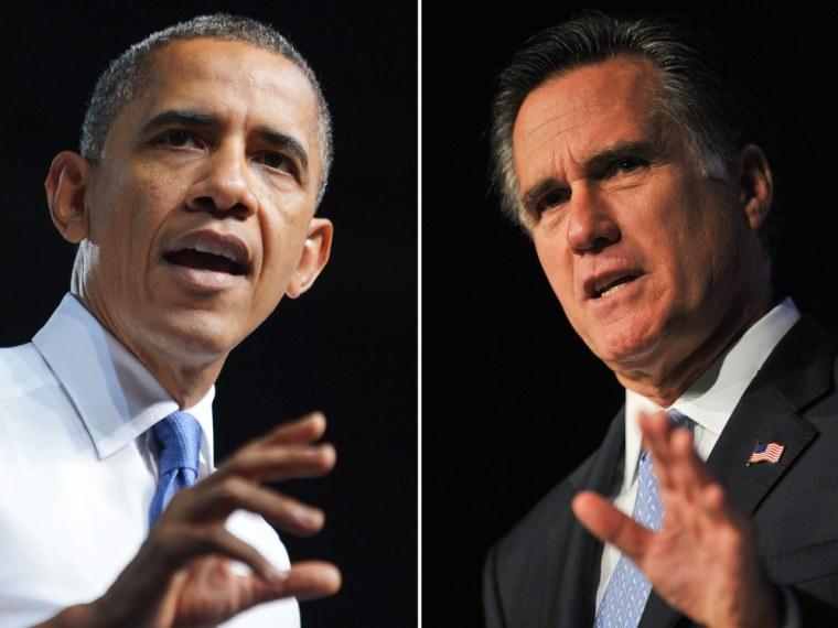 Image: Obama, Romney