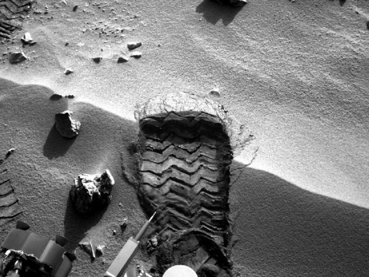 Image: Wheel treads