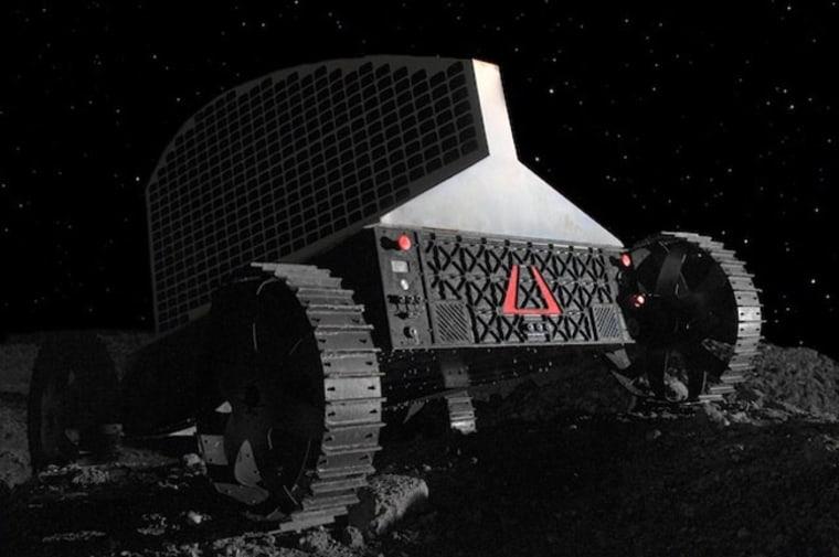 Image: Polaris lunar rover