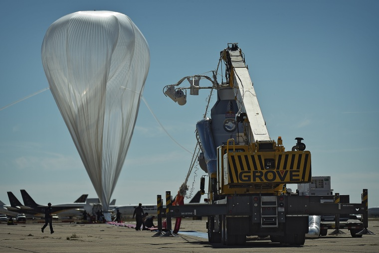 Image: High-altitude balloon
