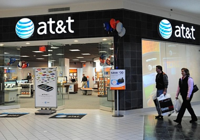 Image:  AT&T store