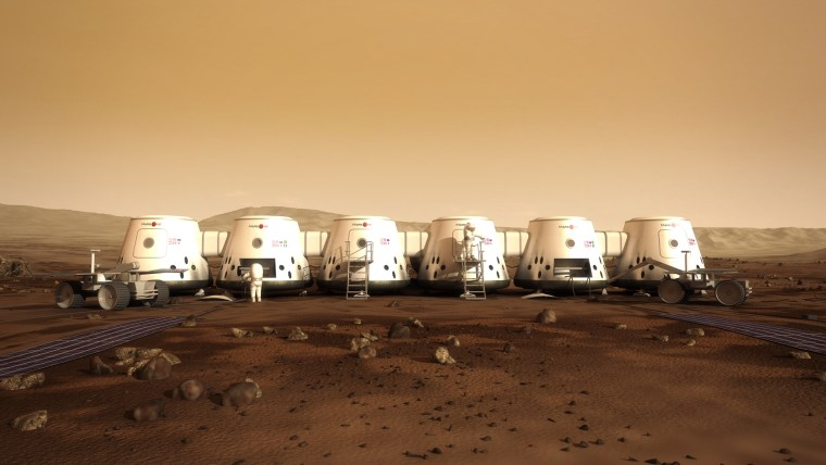 If all goes according to plan, the first Mars One astronauts will touch down on the Red Planet in 2023.