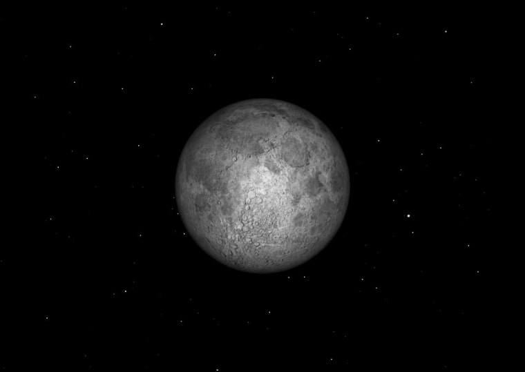 The full moon of October is called the Hunter's Moon. In Algonquian it is called the White Frost on Grass Moon.