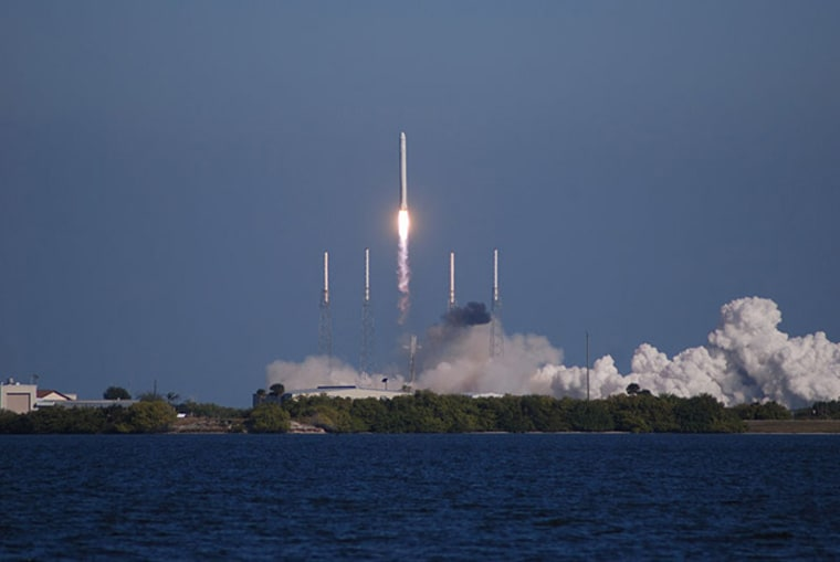 Image: SpaceX's Falcon 9 rocket