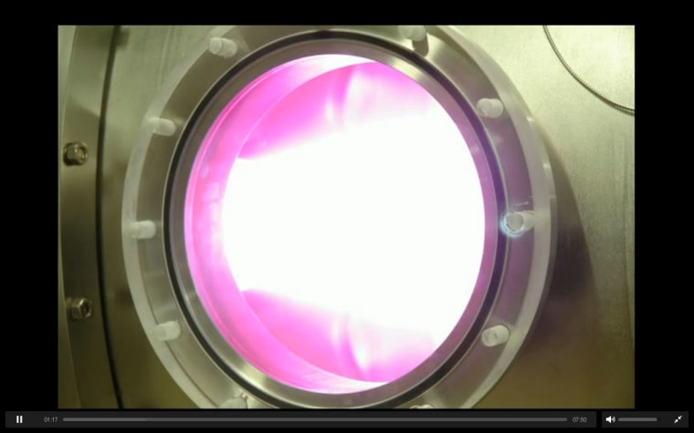 HyperV Technologies Corp., has started a crowd-funding campaign on the website Kickstarter to pay for the project, called a plasma jet thruster.