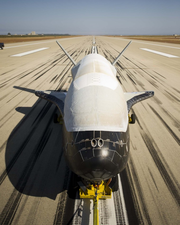 Designed to be launched like a satellite and land like an airplane, the second X-37B Orbital Test Vehicle, built by Boeing for the U.S. Air Force's Rapid Capabilities Office, is an affordable, reusable space vehicle.